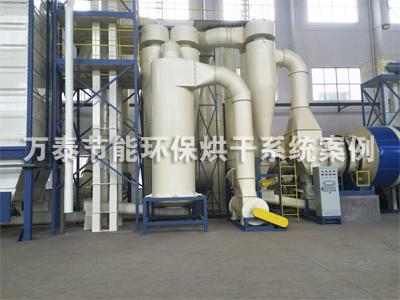 生物能源:万泰木屑烘干机为香杨集团打造无粉尘车间